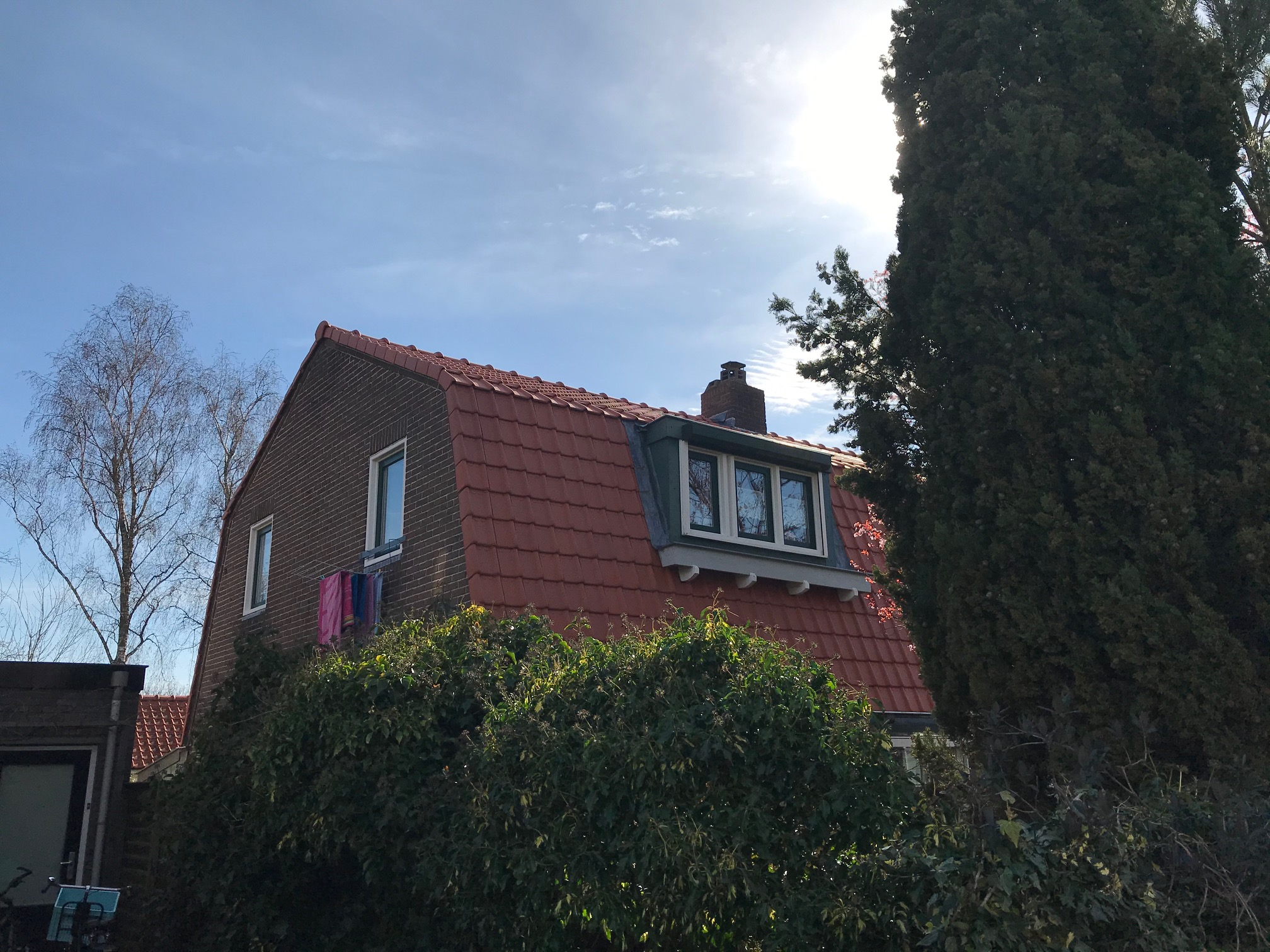 dak renovatie kapelweg Amersfoort